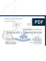 Jornada Interbacional Educacion y Neurociencias