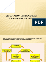 2- Affectation Des Benefices
