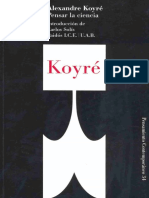 Koyré-PensarCiencia