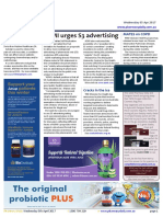 Pharmacy Daily for Wed 05 Apr 2017 - ASMI urges S3 advertising, Cracks in the ice, Pharmacists on the green, Health