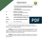INFORME N° 15-2012-GR- internamiento de cemento