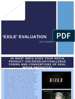 Exile Evaluation
