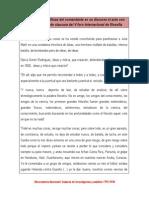 Orientaciones políticas del Comandante en su discurso en el acto con motivo de la clausura del V Foro Internacional de filosofia