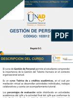 Presentación Del Curso - Gestión de Personal 2017