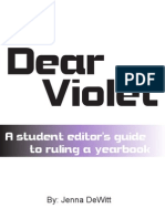 Dear Violet Cover