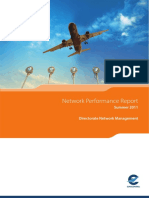 2011 Summer Network Performance Report