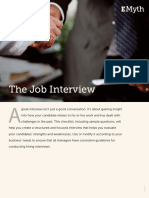 The Job Interview 1