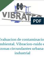 Contaminacion Ambiental Acustica & Vibracion en Zonas Urbana-Industrial