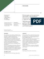 Fisioterapia en Los Pacientes Quemados. Quemaduras,Tratamiento Fisioterápico y Aspectos Relacionados