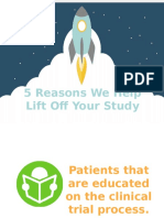 5 Reasons We Help Lift off Your Study