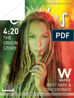 Edibles List Magazine - The 4:20 Issue - Edition 34