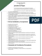 0 Lista de Formularios Mercantiles