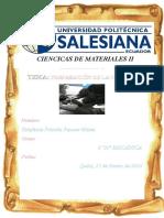 Informe 1 . Prepracion de La Probeta k100