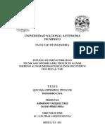 Estudio de Prefactibilidad Técnica-económica Del Proyecto Ganar Terreno Al Mar
