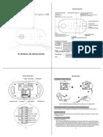 Manual Alarma Inalambrica Longhorn LH-D1 Español