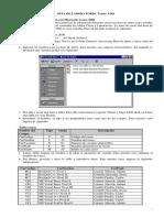 Guía de Laboratorio( Ado. Data Report y Recordset)