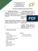 Práctica Nº 5-Relación Estequiométrica de Reacciones Químicas