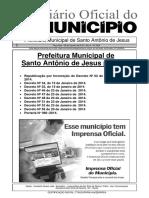 Decreto de Normatização de Carteira Funcional Da GM SAJ-1