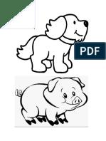 Animales Trabajo 1 y 2