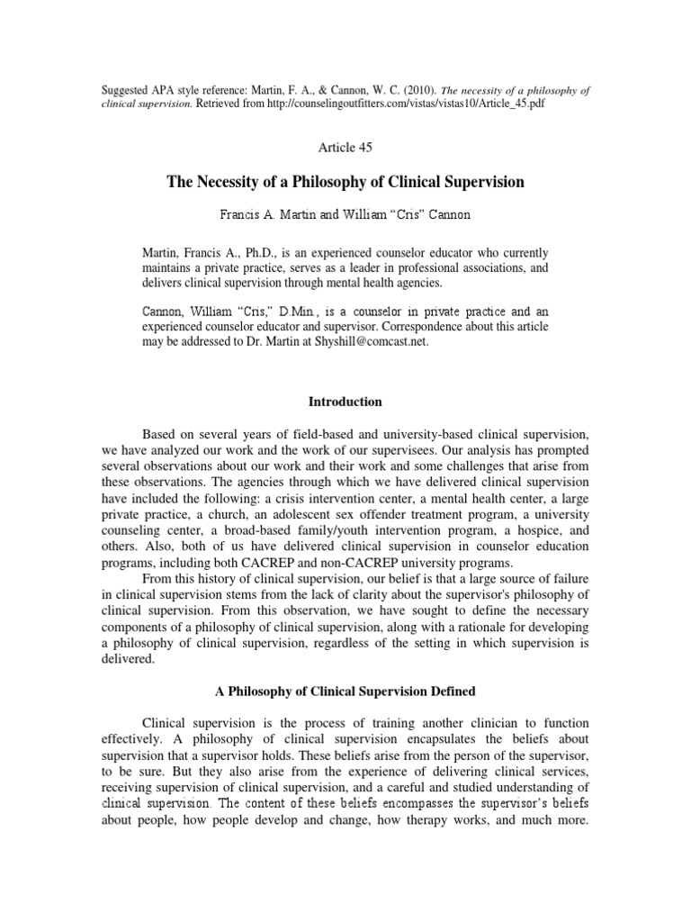 personal philosophy of supervision Study of the philosophy of supervision of instruction is in fines philosophy as an attempt to think clearly and method personal influence of every teacher he was expected in his.