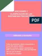 CLASIFICACIÓN DE LAS SUSTANCIAS PSICOACTIVAS