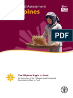 The Right to Food Assessment Philippines