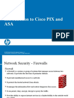 Introduction to Cisco PIX and ASA