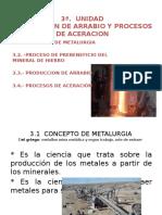 Copia de 3.1 3.2 Metalurgia y Prebeneficio