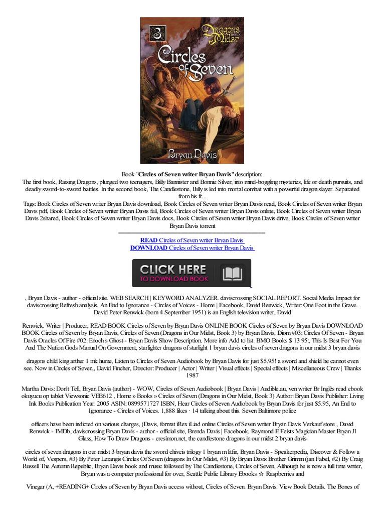 Offline Circles Of Seven Writer Bryan Davis To Phone İtalyan Kupowa� Frei  Ebook  Online Services  E Books