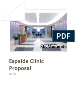 espalda clinic group proposal