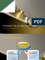Kuliah 9 - Present Value Method