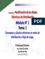 Planificación de las Redes  Eléctricas de Distribución