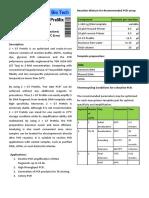 GT PreMix Datasheet