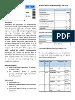 PerfectRead Datasheet