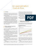 Rapport Cost at Risk