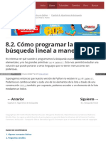 8.2. Cómo Programar La Búsqueda Lineal a Mano