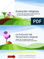 Evolución Del Pensamiento Religioso