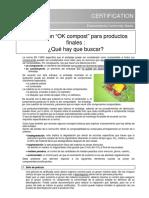 Certificacion Para Productos Finales Vincotte