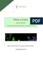 texto pedro y el lobo.pdf