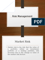 Risk Management Intro