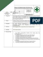 SOP Penyampaian Hasil Informasi Peningkatan Mutu Dan Keselamatan Pasienn
