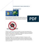 Grupo 6 Amenazas y Seguridades Para Windows 8