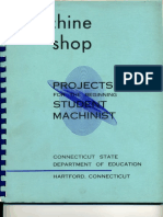 MACHINE SHOP PROJECTS  BEGINNER.pdf