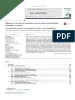 Advances in Pectin Production