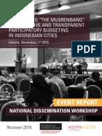 MAVC National Dissemination Workshop Event Report