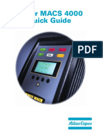 Atlas Copco Power Macs 4000 Quick Guide UK