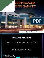 1. Konsep Dasar Patient Safety