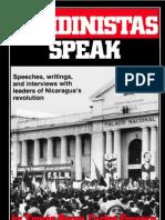 Sandinistas Speak