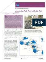 USGS Demonstration Flash-flood and Debris-Flow