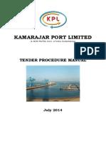 Tender Procedure-July 2014